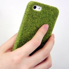 Just don't drop this in the grass... Shibaful Turf iPhone Case