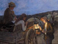 Stanhope A. Forbes, Lighting Up Time