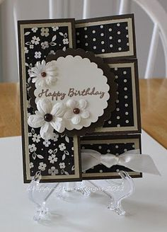 Silhouette Tri-Fold Shutter Card and I have that paper!