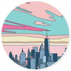 Edificios Tumblr Stickers, Phone Stickers, Cool Stickers, Printable Stickers, Aesthetic Stickers, Vinyl Art, Art Inspo, Art Drawings, Illustration Art
