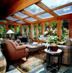 Fresh Rustic Sunroom Pictures