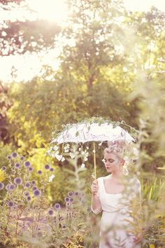 Antoinette Meet's Austen ~ Ethereal Wedding Day Style...
