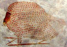 Grotte de Marsoulas : Bison préhistorique.