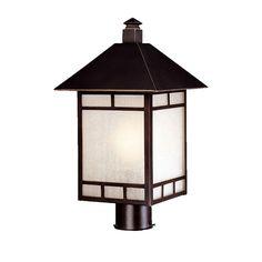 Artisan 1 Light Outdoor Post Lantern