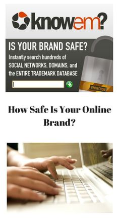 You've heard of Identity Theft but have you heard of Brand Theft? Be sure your brand is safe across the internet #ad #brand #theft #business #trademark #online