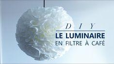 JOUR 24 : COMMENT FAIRE UN LUMINAIRE EN FILTRES À CAFÉ - DIY facile et p...