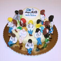 Unidade Saúde Familiar   Esculpido   Empresa   Grãos de Açúcar - Bolos decorados - Cake Design