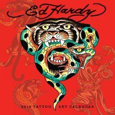 Ed Hardy Wall Calendar Cover (2012)