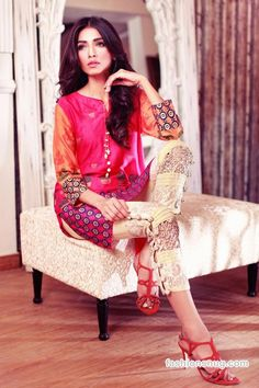 Annus Abrar Eid Collection 2015 With Prices