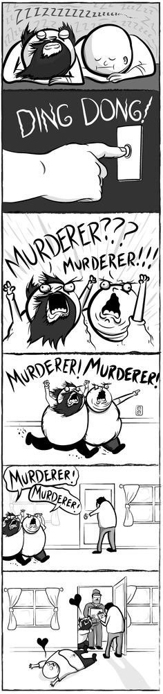 """The Oatmeal comic """"If My Dogs Were Two Middle Aged Men"""". I snort and cry a little every time. Parts 1 and Haha Funny, Funny Cute, Funny Memes, Hilarious, Jokes, Lol, I Love To Laugh, Make Me Smile, Middle Aged Man"""