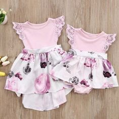 Girls Unicorn Tulle Dress Striped Princess Party Birthday Sundress Toddler 0-5Y