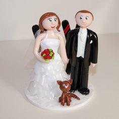 Figurines de mariage personnalisées wedding cake topper