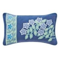 V&A Columbine Periwinkle Blue Cushion