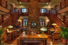 Main lodge at Five Pine. Sisters, Oregon. Central Oregon