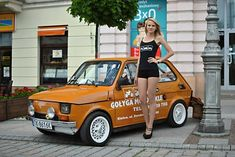 Fiat 500, Fiat Cars, Fiat Abarth, Mustang Fastback, Car Girls, Sexy Cars, Go Kart, Poland, History