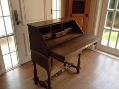 escrivaninha estante antiga madeira maciça muito conservada