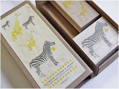 Ink + Wit Rubber Stamp Set!