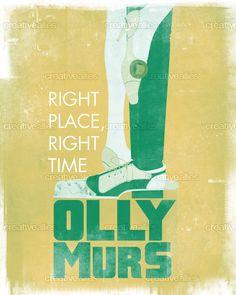 Olly Murs Poster by cucubaou on CreativeAllies.com