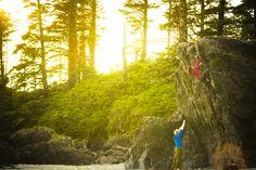 #climbing Vancouver Island (Arcteryx.com)