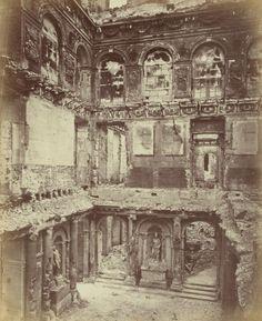 Palais des Tuileries, photographie d'Alphonse Liébert, Les ruines de Paris et de ses environs, 1870-1871, BNF/Gallica