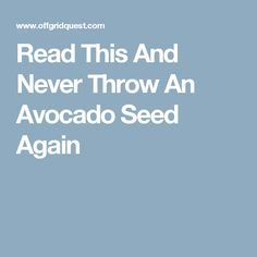 Read This And Never Throw Away Avocado Seeds Again - Healthy Food House Home Recipes, Healthy Recipes, Healthy Food, Avocado Seed, Stomach Problems, Reduce Inflammation, Amino Acids, Health And Nutrition, Arthritis