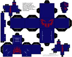 Spiderman 2099 Cubeecraft