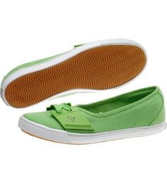 PUMA El Ace Ballerina Flats... WANT!! Too bad my feet are too small to wear them :(