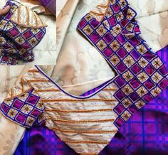 Designer blouse pattern