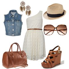 so easy! liking the blue jean vest as a staple piece