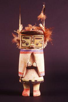 Hopi kachina doll, E3843, Museum of Northern Arizona, Flagstaff, Arizona