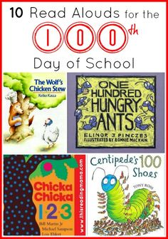 10 Read Alouds for the 100th Day of School