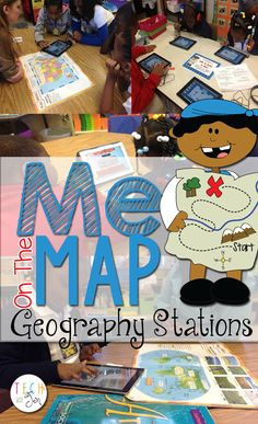 Great post about using stations to explore geography concepts. This is useful for planning and for classroom layout. 3rd Grade Social Studies, Kindergarten Social Studies, Social Studies Classroom, Social Studies Activities, Teaching Social Studies, Science Classroom, Teaching Science, Social Science, Classroom Activities