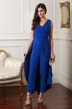 Philippe Royal Blue Catsuit