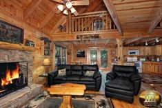 Smoky Mountain Cabins for Rent in Gatlinburg and Pigeon Forge TN Colorado Vacation Rentals, Colorado Cabins, Denver Colorado, Secluded Cabin Rentals, Smokey Mountain Cabins, Tennessee Cabins, Prefab Cabins, Log Cabins, Primitive Living Room
