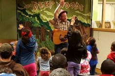 Gettin' Fitter with the Critters Multnomah County Central Library Portland, OR #Kids #Events