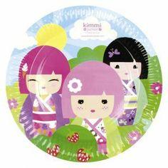 thème kokjeshi - Décorations anniversaire enfant Kimmi Junior