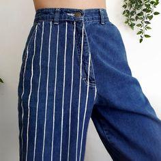 a ✨ - - DIY Clothes Tutorial ideas . a ✨ – – DIY clothes tutorial ideas a ✨ – Source by Painted Jeans, Painted Clothes, Looks Style, Looks Cool, Diy Fashion, Fashion Outfits, Fashion Design, Floral Fashion, Tomboy Fashion
