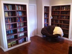 Custom Maple Bookcase  www.followthegrai...