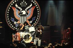 The Ramones Musikgruppe Rockmusik Punkmusik USA Auftritt in Hamburg 1996