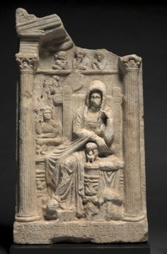 Grave Stele (Relief), c. Greece Art, Cleveland Museum Of Art, Roman Art, Clay Figures, Ancient Artifacts, Ancient Greece, Asia, Archaeology, Art History