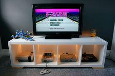 KALLAX Retro Console Display