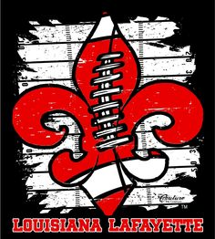 University Louisiana Lafayette Football images