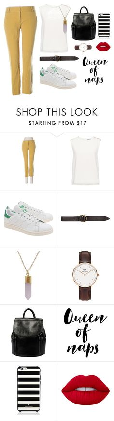 """queen of naps."" by luciernld on Polyvore featuring mode, LOFT, Finders Keepers, adidas Originals, Billabong, Humble Chic, Daniel Wellington, Kate Spade et Lime Crime"