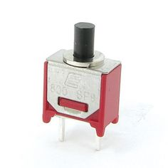 • 3A 120VAC or 28VDC rating • Through hole mounting design • 1 pole momentary functions • Variety of bushing and terminal options www.e-switch.com