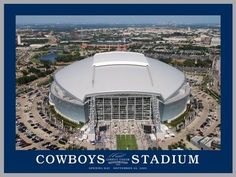 White Mountain Cowboys Stadium Opening Day Jigsaw Puzzle - 550 pc