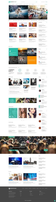 Description NewsStand is a Magazine/Blog/Shop Wordpress Theme with a clean and professional design which will be a great solution for your magazine, blog or any other purpose.  NewsStand is also...