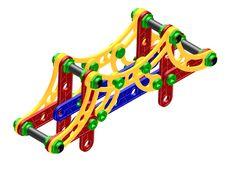Modelo de Ponte simulando a Hercílio Luz1 Veja o passo a passo em vídeo no link youtube dentro do site Atto Educacional