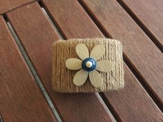 A Spoonful of Crafts: Rustik servietring / Rustic Napkin Ring