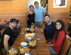 """""""The couples with Spurgie have been spotted. Jessa,Ben,Spurgeon,Jinger,Jeremy and 2 fans. Duggar Girls, Jinger Duggar, Jeremy Vuolo, Dugger Family, 19 Kids And Counting, Bates Family, John David, Thing 1, 4 Kids"""