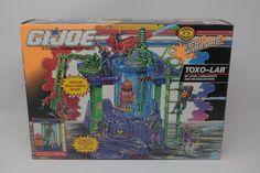 GI Joe TOXO-LAB Cobra HQ 1992 Eco Warriors Hasbro MISC SEALED AFA WORTHY Rare  | eBay